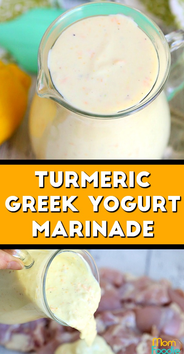 Turmeric Greek Yogurt Marinade