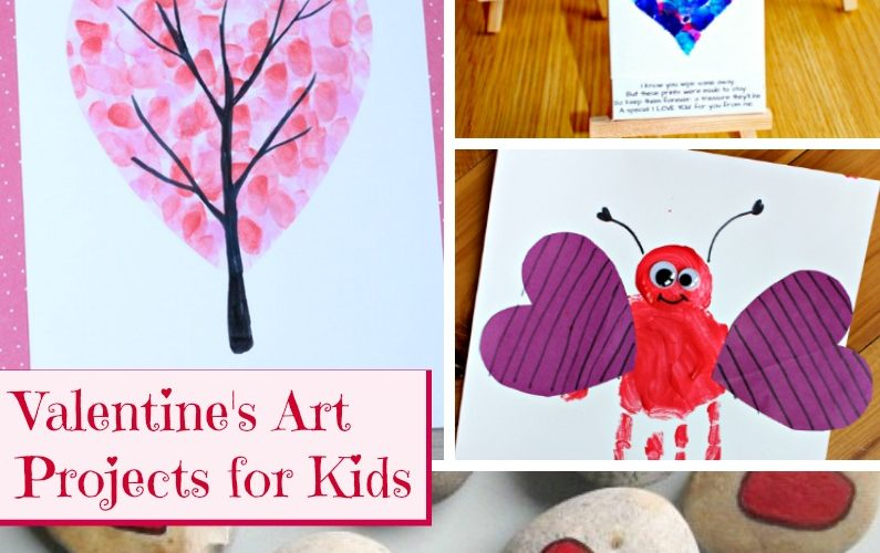 Valentine's Day Art Projects for Kids