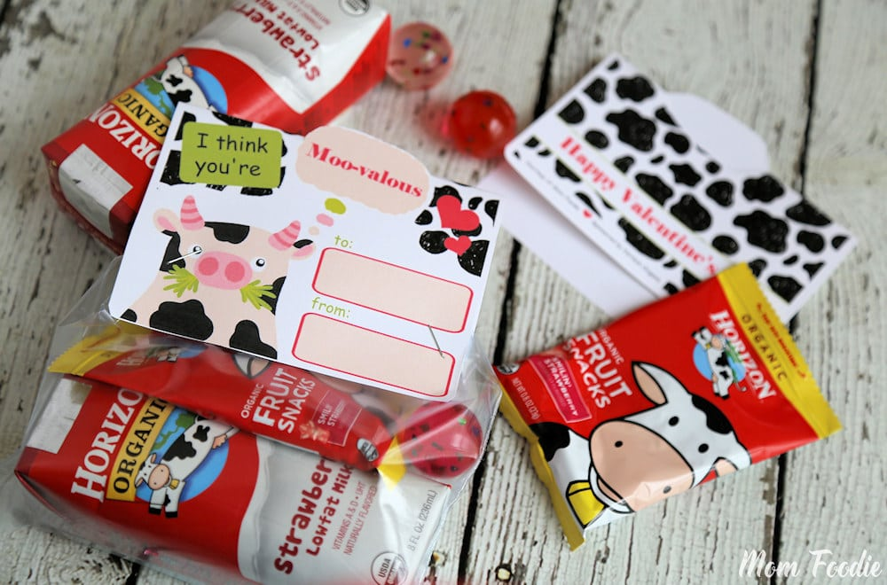 Valentines Printable Cow Topper