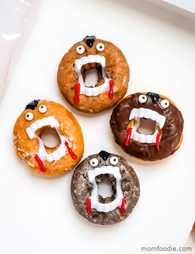 Vampire Halloween Donuts