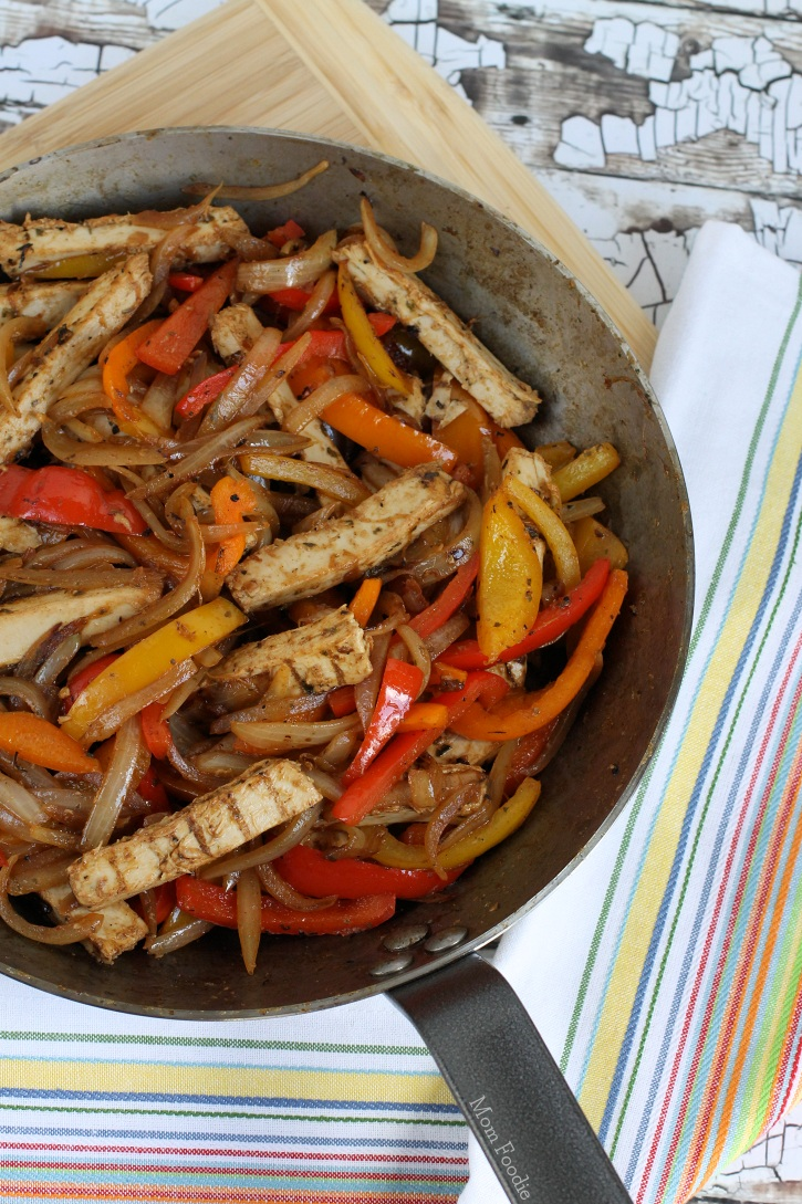 Vegan Chicken Fajita Skillet Recipe