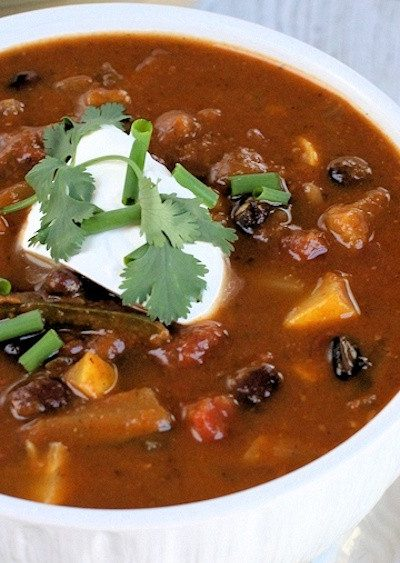 "Healthy Vegetarian Chili Recipe: Vegan, Grain-free and ""Wicked Good"""