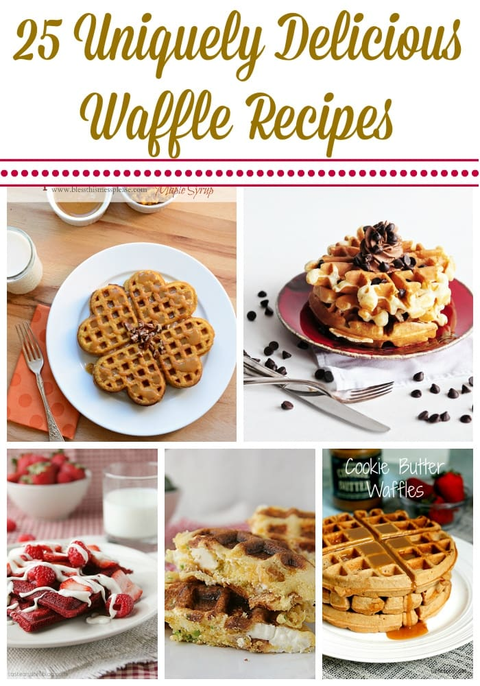 Unique Waffle Recipes
