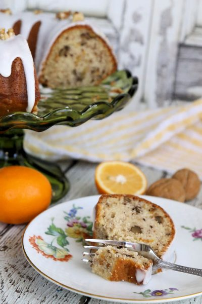 Walnut Meyer Lemon Bundt