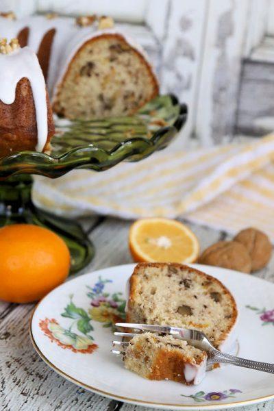 Meyer Lemon Sour Cream Bundt Cake