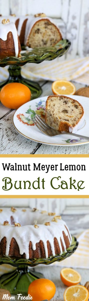 Walnut-Meyer Lemon Bundt Cake