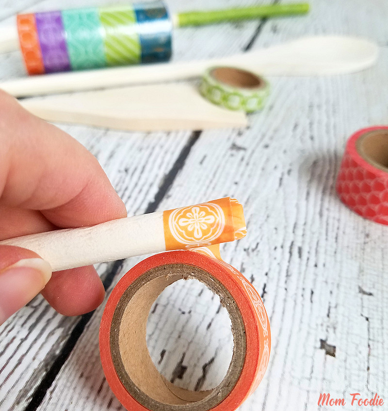 Washi Tape Utensils
