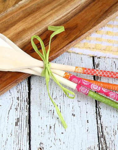 Washi Tape Kitchen Utensils