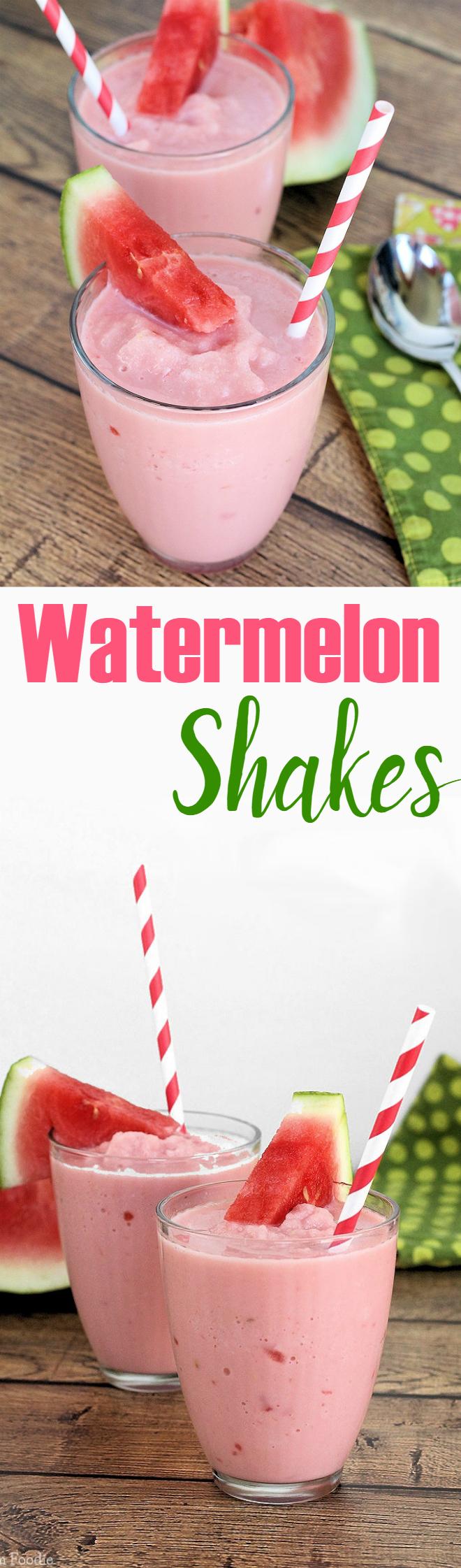 Watermelon Milk Shakes