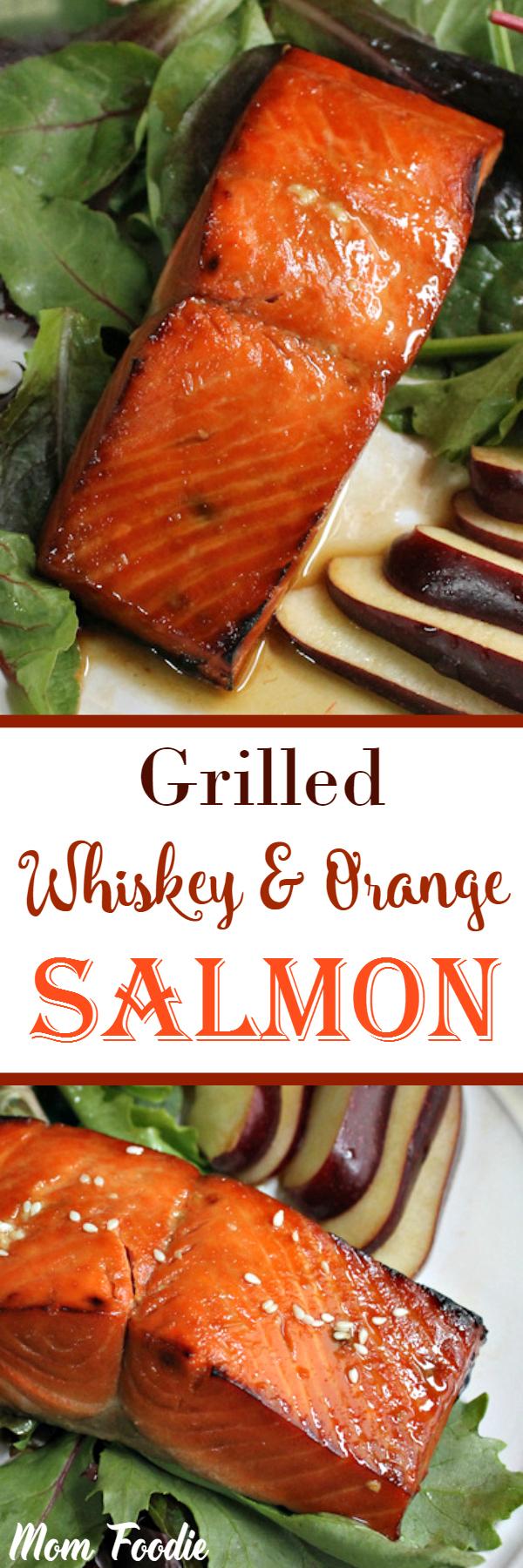 Whiskey Orange Salmon