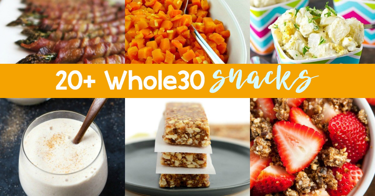Whole 30 Snacks recipes