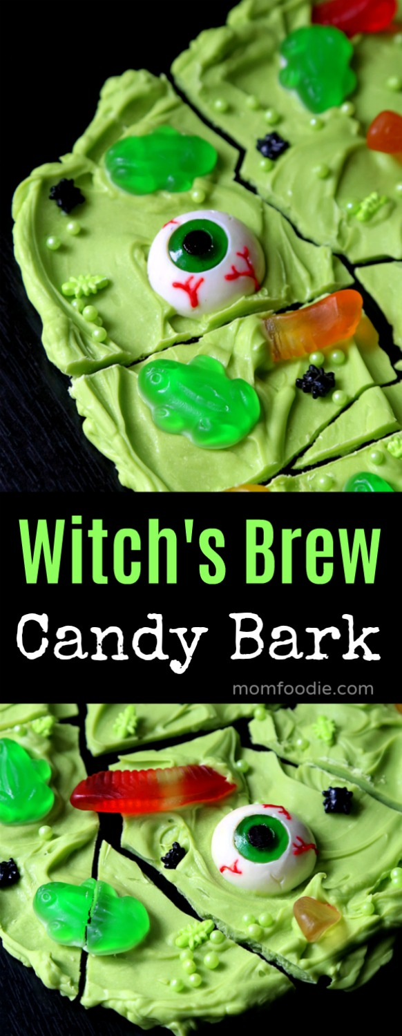 Witch's Brew Candy Bark - Halloween Treat