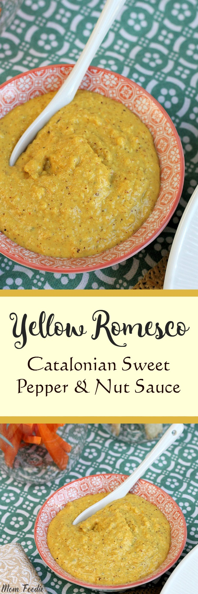 Yellow Romesco Sauce