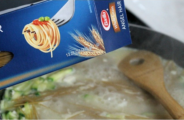add angel hair pasta
