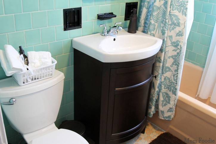after bathroom restyle