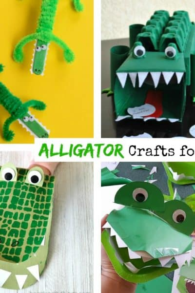 8 Exciting Alligator Crafts for Kids