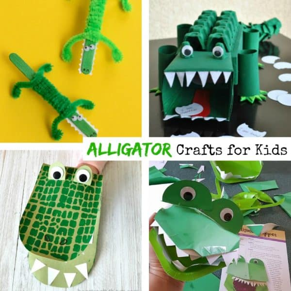 alligator crafts for kids