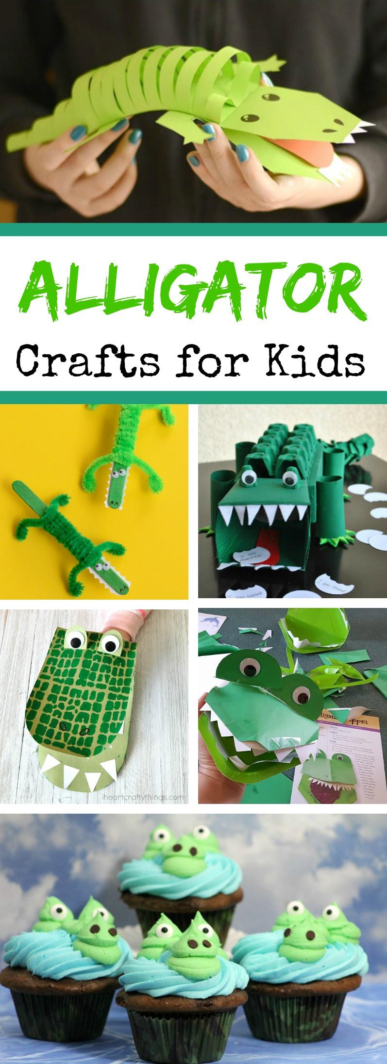 Alligator Crafts for Kids