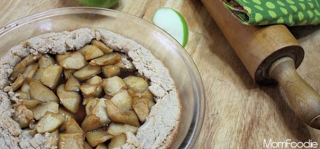 apple oatmeal galette
