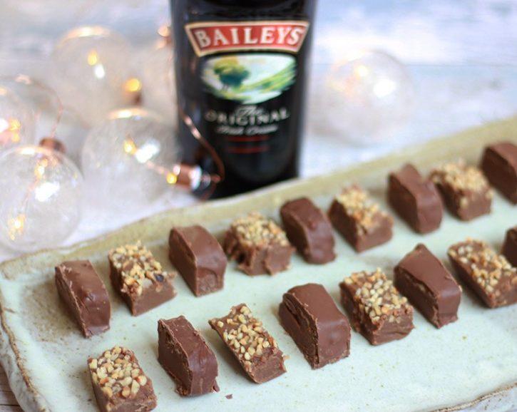 baileys desserts - fudge
