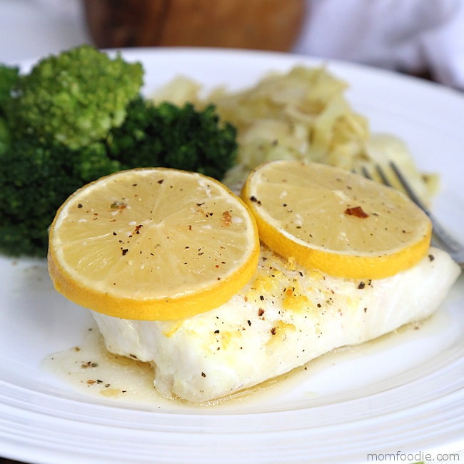 baked cod with lemon pepper
