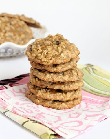 banana oatmeal chocolate chip cookies