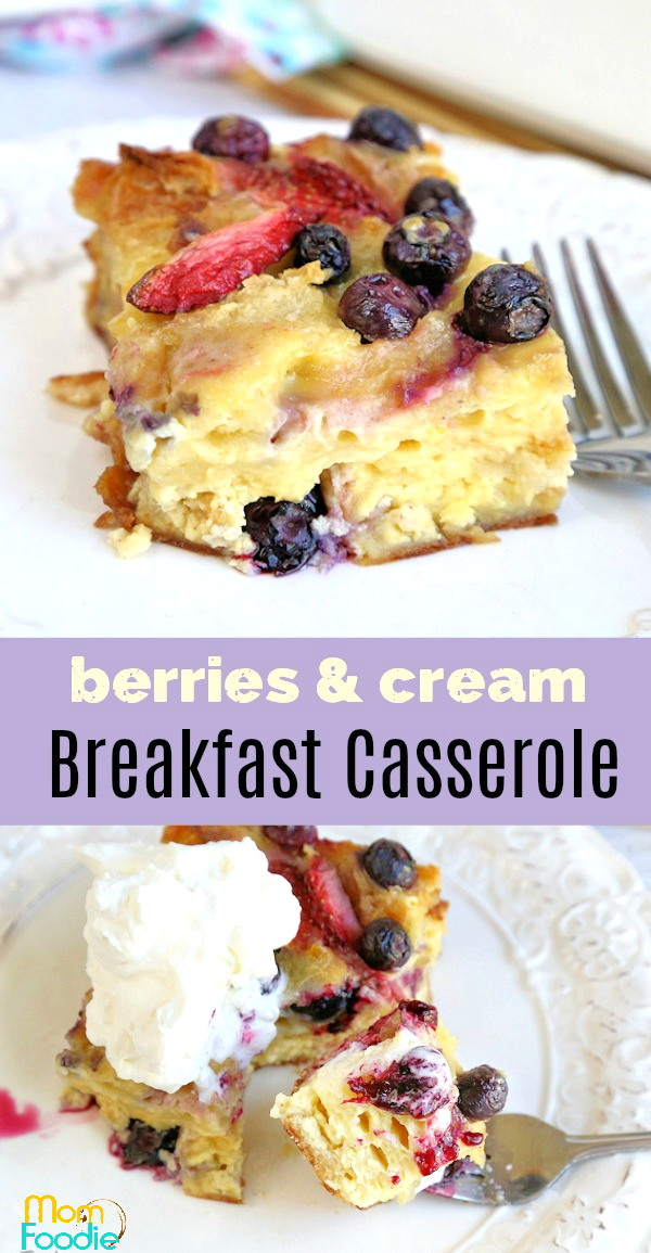 berry breakfast casserole