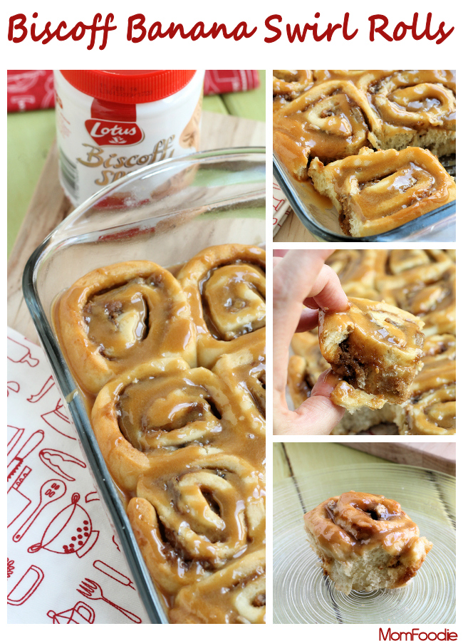 biscoff banana rolls recipe