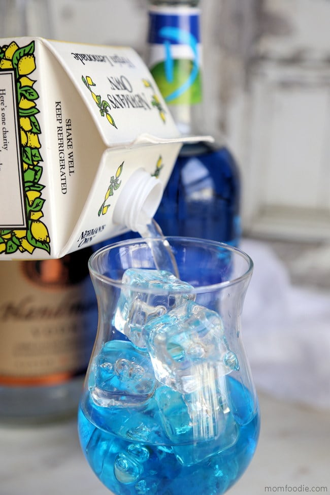 blue lagoon lemonade