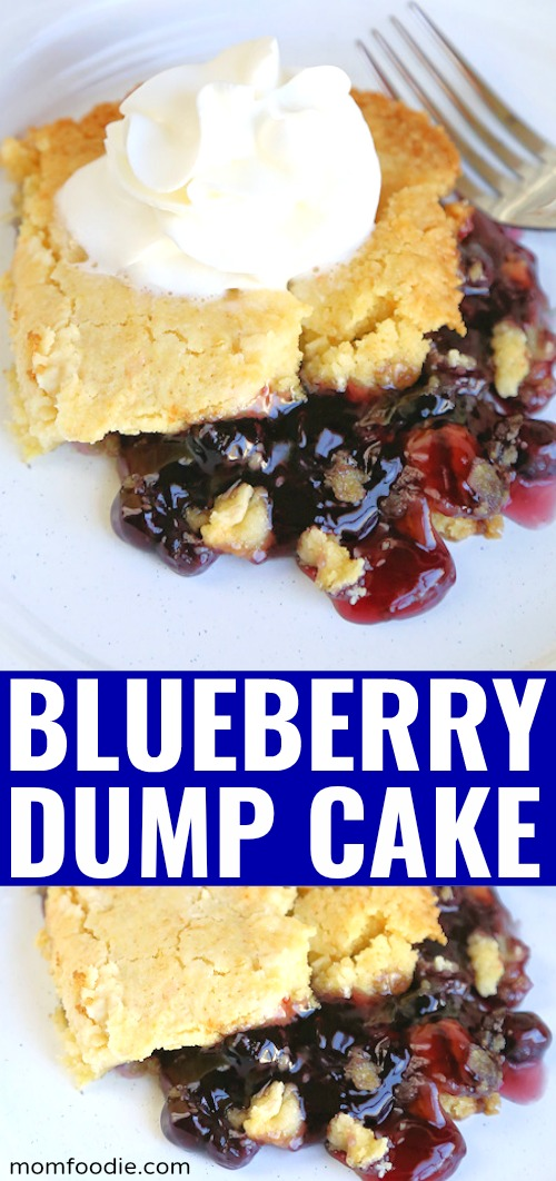 Blueberry Dump Cake pinterest