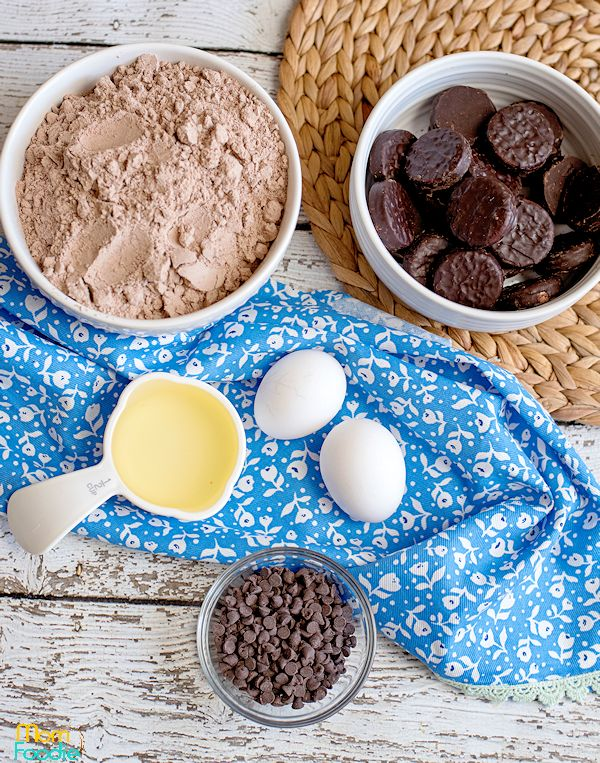 brownie cookies ingredients