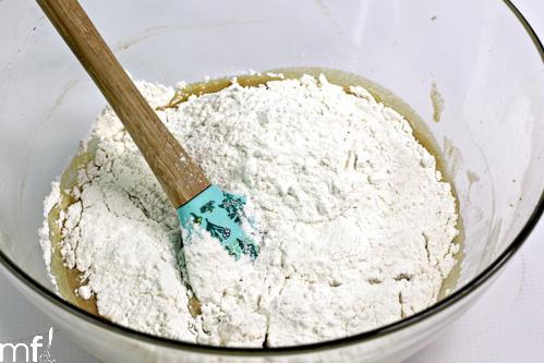 add flour mixture