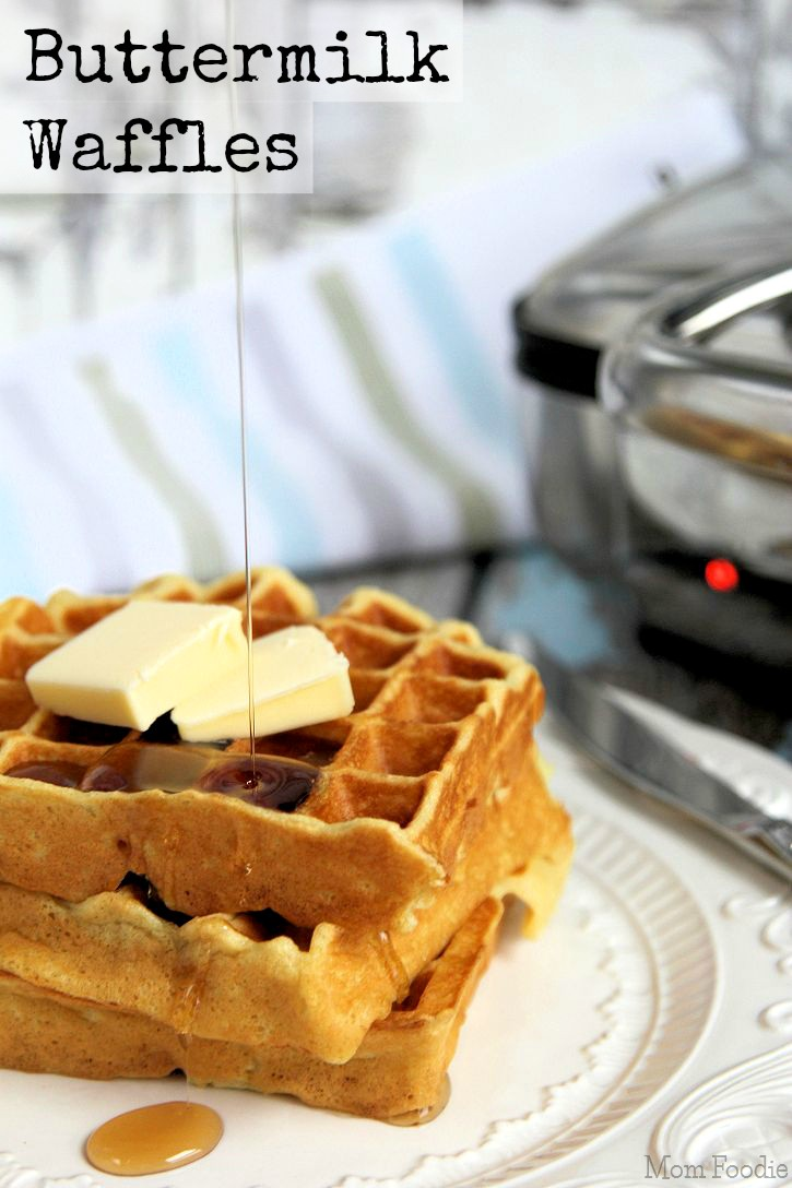 Buttermilk Waffles & Service Worth Remembering - Mom Foodie