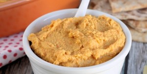 Roasted Carrot Hummus Recipe
