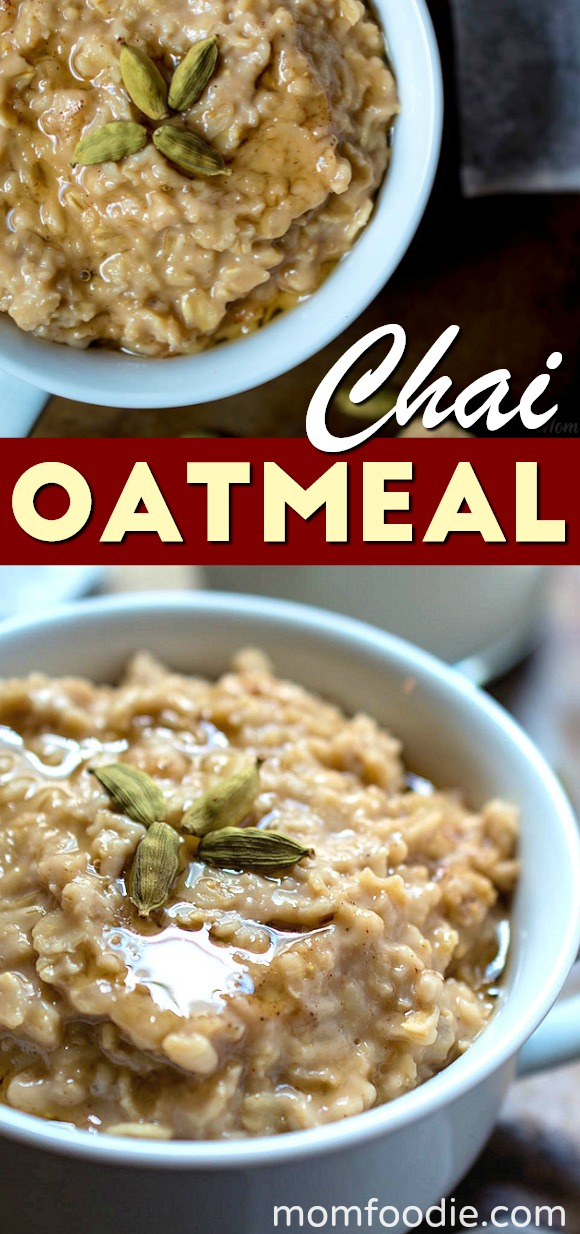 Chai Tea Oatmeal