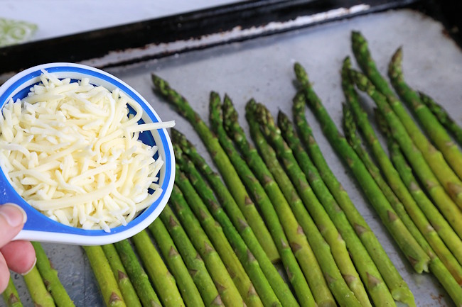 cheese for asparagus