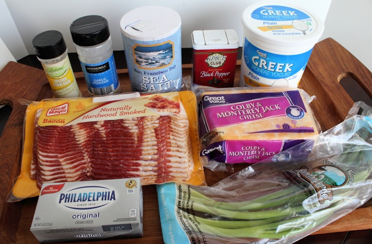 bacon dip ingredients