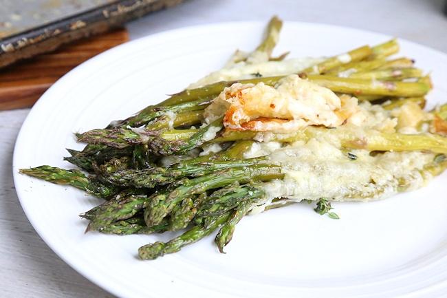 cheesy baked asparagua recipe