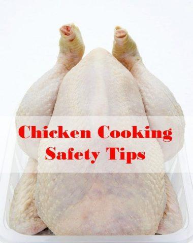 chicken cooking safety