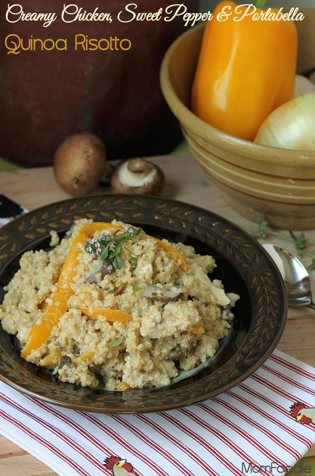 chicken quinoa risotto title