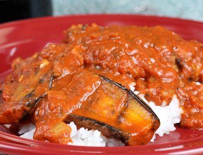 Chicken & Eggplant Tikka Masala Recipe