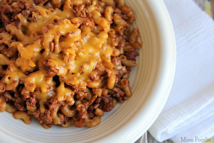 gluten free chili cheese mac