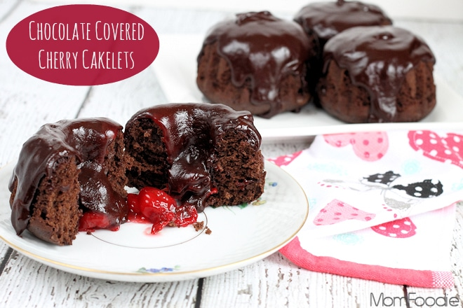 chocolate covered cherry cakelets