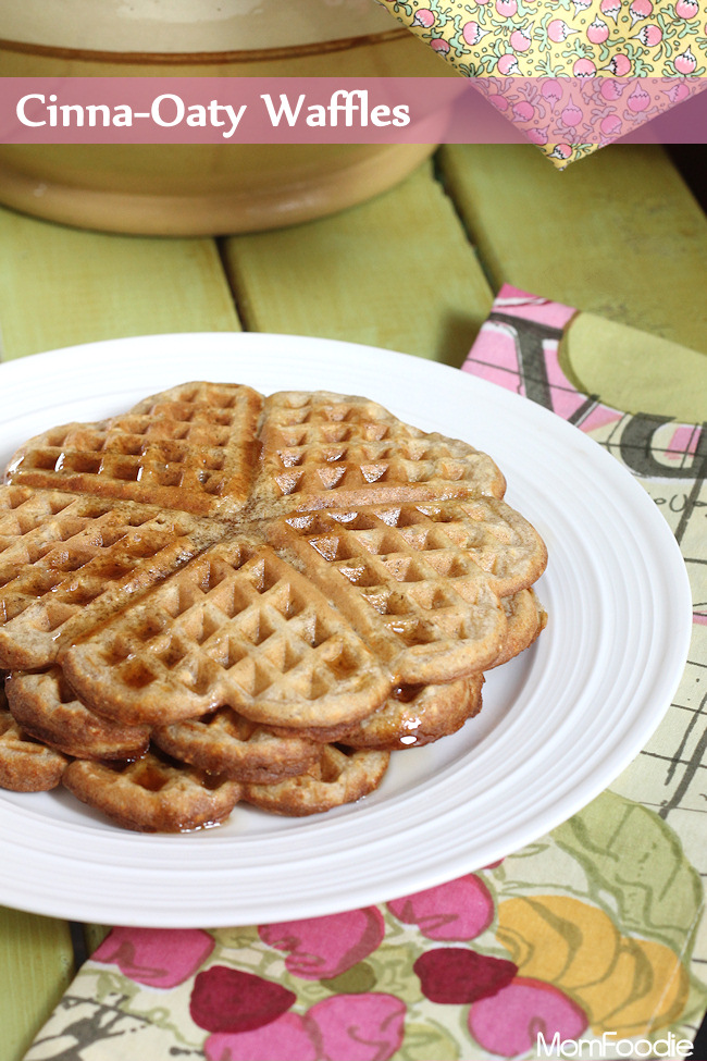 cinnamon oatmeal waffles recipe