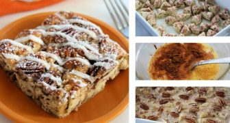 cinnamon roll french toast casserole recipe