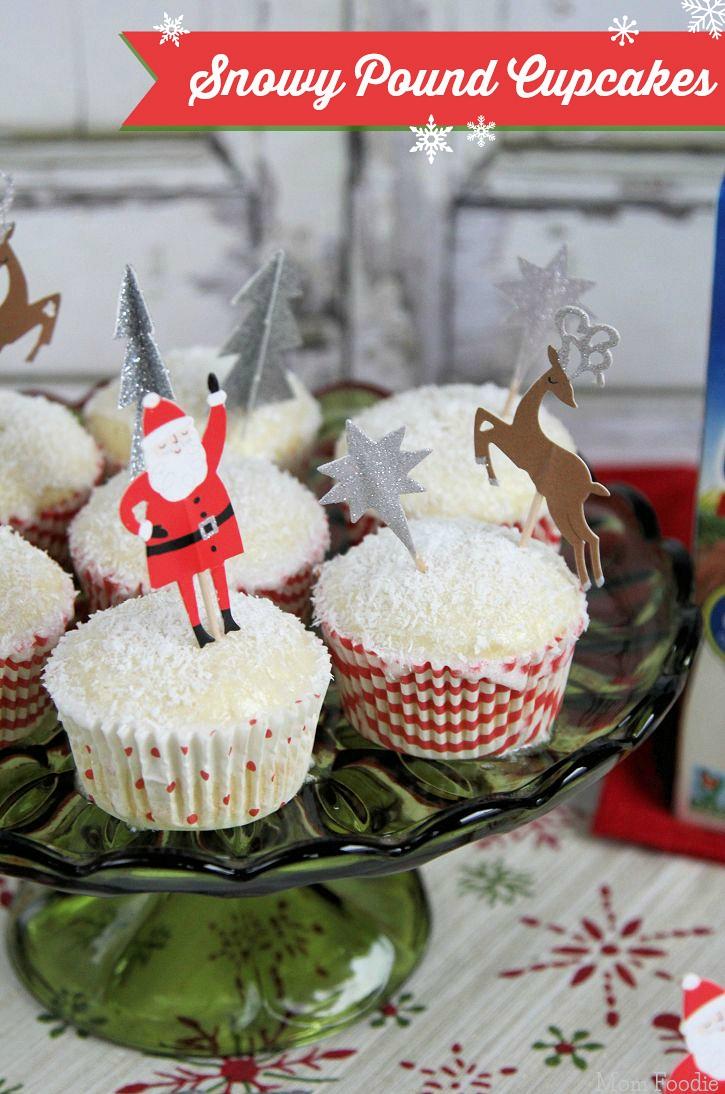 coconut poundcake cupcakes