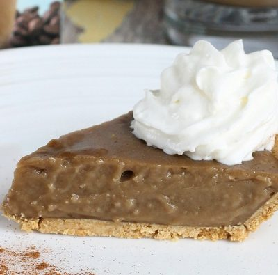 Coffee Pudding Pie Recipe #IcedDelight
