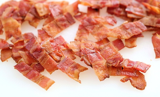 bacon for salad