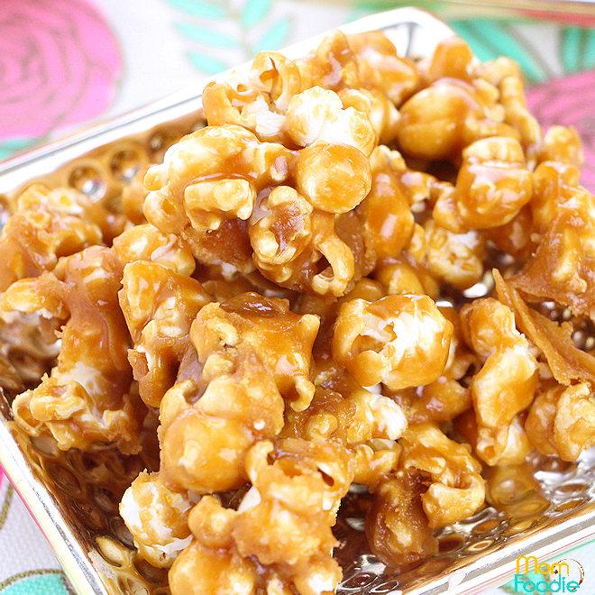 cookie butter popcorn recipe