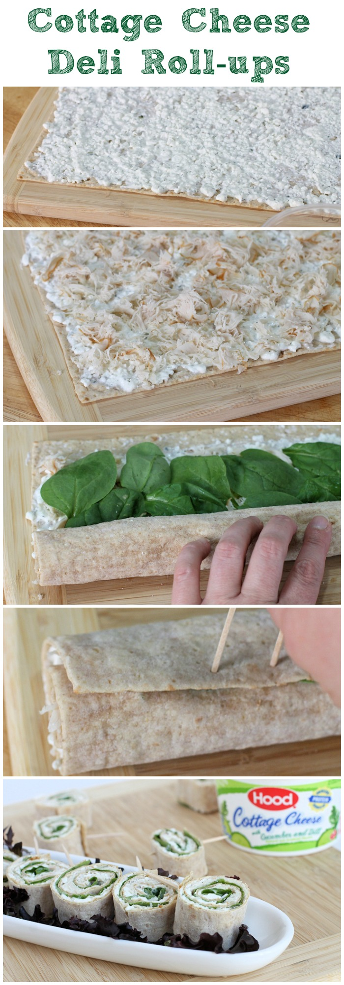 cottage cheese deli roll ups